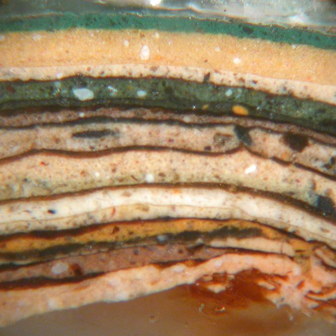 Historic paint analysis via cross-section microscopy
